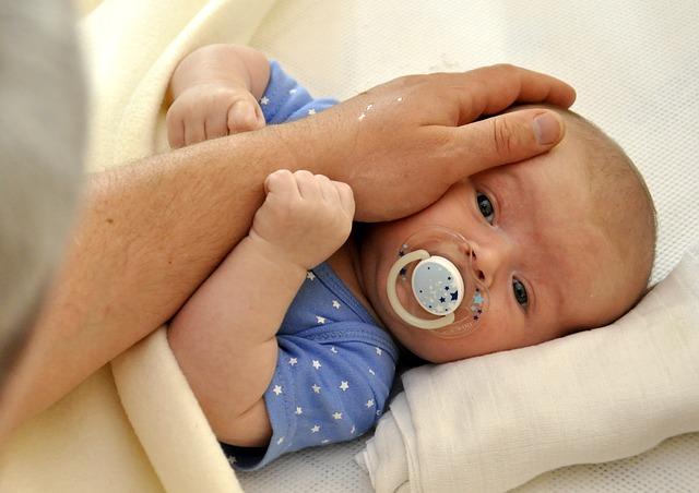 novorozený chlapec