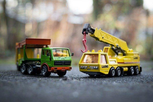 nákladní autíčka