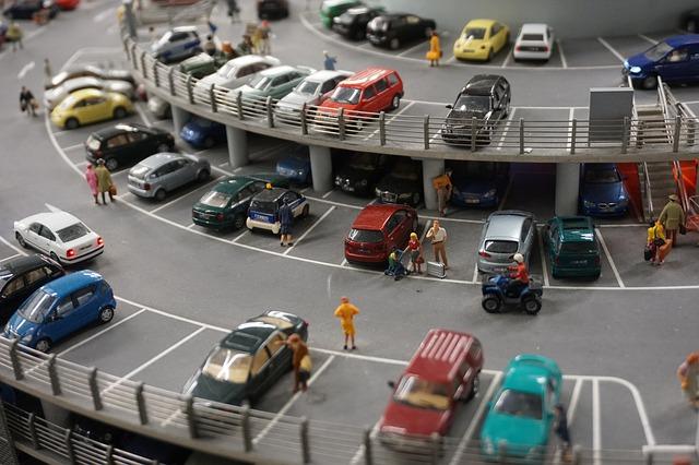 garáž pro autíčka